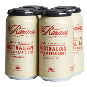 st ronan's cider cans
