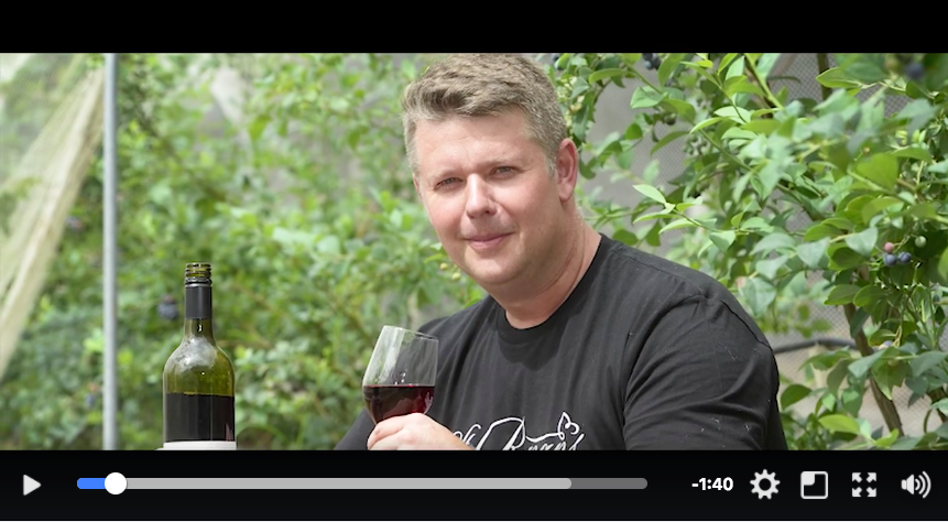 Eric from Blueberry Winery interview Weekly Times